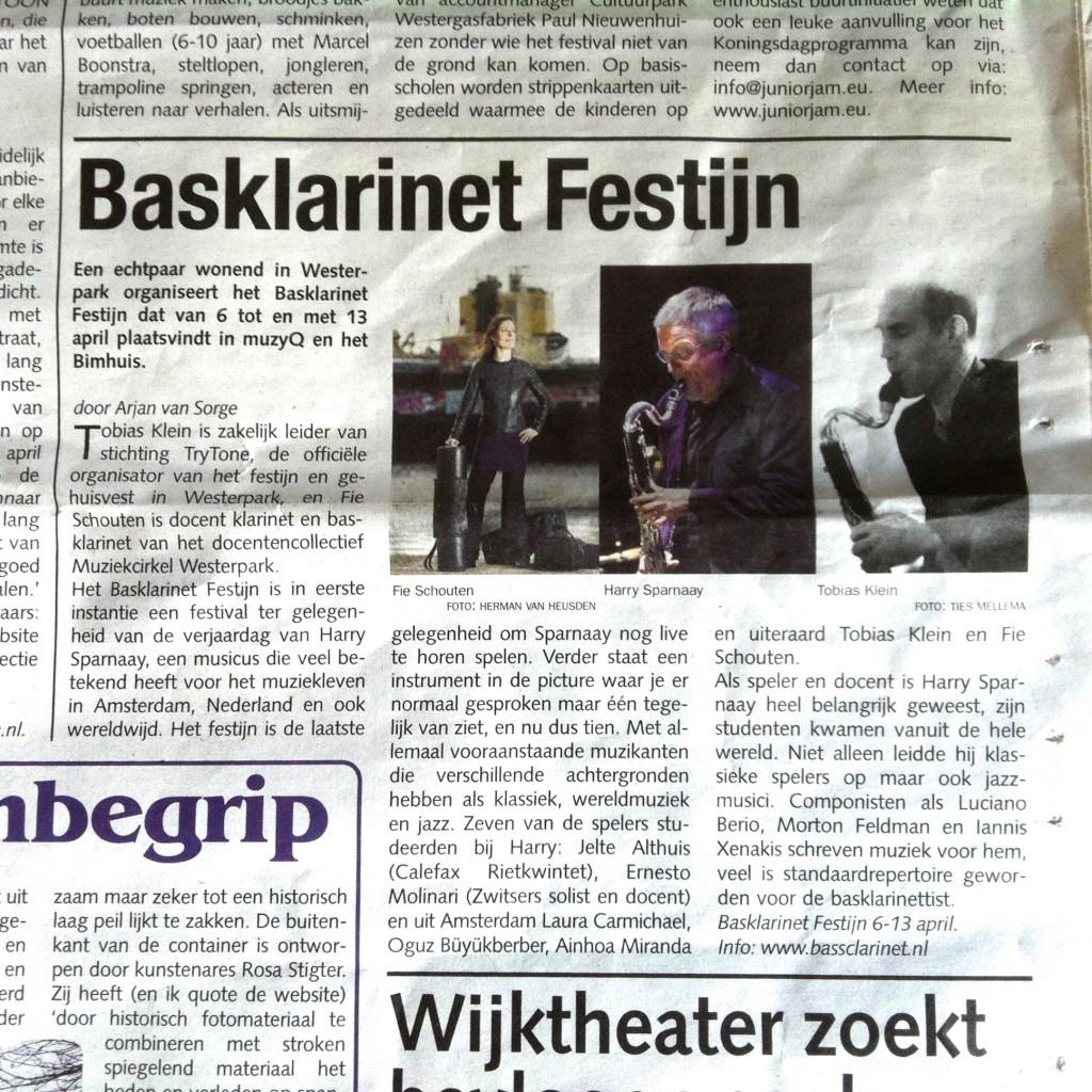 Staatskrant maart 2014