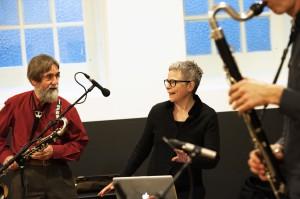 Anne La Berge en deelnemers foto E.Melchior
